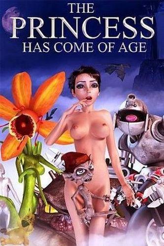 The Princess Has Come Of Age - DVD 3D Porno