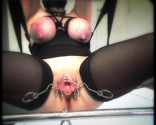 DOWNLOAD from FILESMONSTER:  Slave M Torture BDSM Extreme Torture  SlaveM / clip4sale   Suspended slaves, and thrust her pussy hook