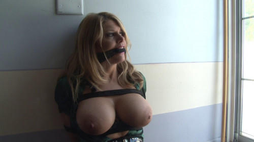 bdsm Bound and Gagged - Wandering in Bondage - Carissa Montgomery