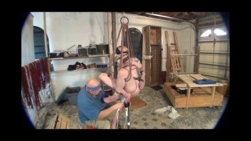 bdsm Natalia Bird Cage and Rubber Whips