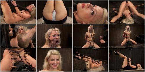 Hot Blonde Anikka Albright's FIRST BONDAGE SHOOT EVER! BDSM