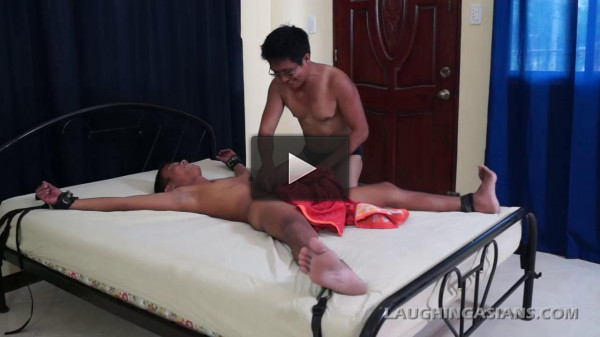 Ticklish Twink Javey (hungry hole, prepubescent gay, boy porn, straight men, asian twink)