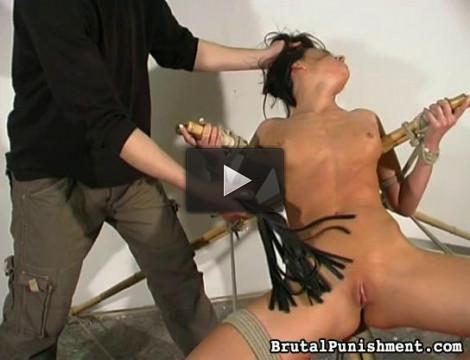 Brutalpunishments — Oct 09, 2014 - Horny Pain Slut Nicole Endures Another Bondage Session