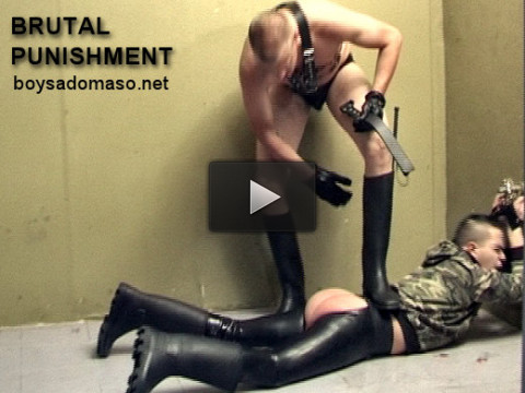 boysadomaso - Young Punk gets BRUTAL Spanking (3 scenes HQ)