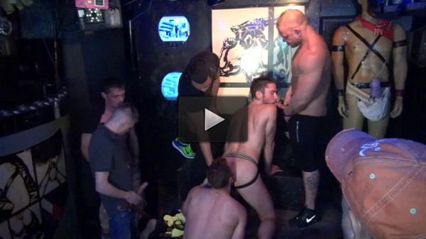 Party & Gang Bang - bareback, gang bang, anal sex, slut