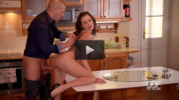 Sensual Jane — A Chef_s Choice — Busty Glamour Goddess Titty Fucked In Kitchen