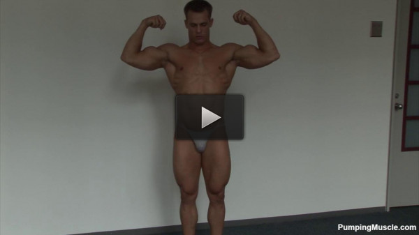 Pumping Muscle - Nick T Photo Shoot - download, tiny, model