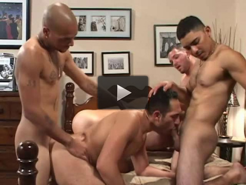 Tight Asses In Gangbang.
