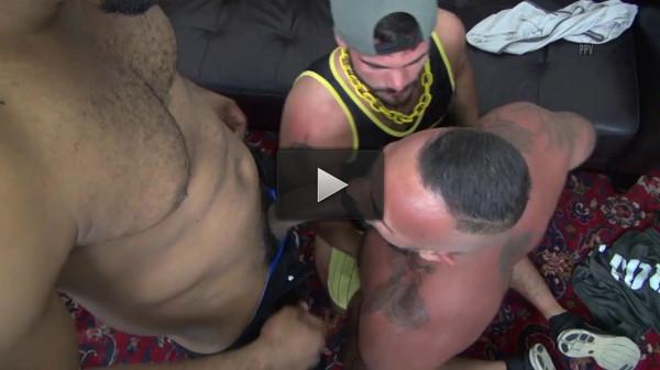 Aarin Asker, Alessio Romero & Ray Diesel (black dick, group sex, huge dicks, anal sex)