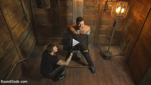 Straight Boy Begs for Hard Torment - huge, man, need, watch