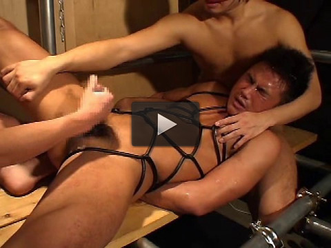 anal sex media video (Men's Hell 3 - Muscle Torture Training).