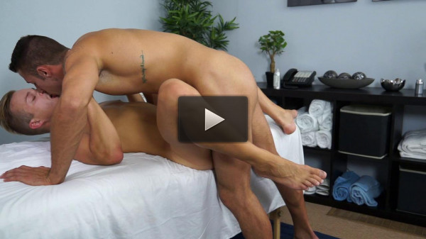 one spa having night (Hot Twink Skylar West massages 18 year Old Ryan Knightly).