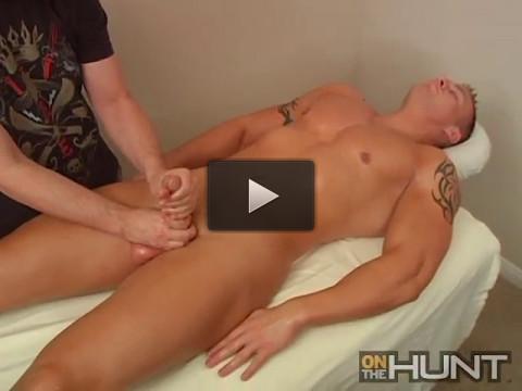 Massaging Jay McQuay