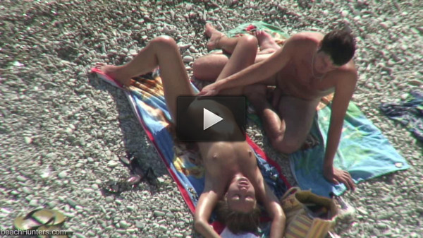 Peeped at the beach 7 - Voyeur, Nudism HD