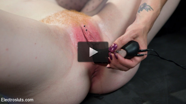 Horny Newbie Katie Kiss Begs for More Electricity!