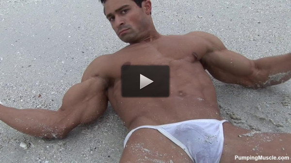 PumpingMuscle — Bodybuilder Aidan G Photoshoot Part 1
