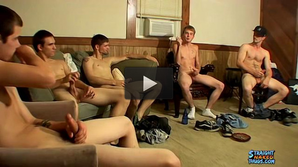 Billy, Cain, Cherokee, Nolan & Potter in «Straight Thug Circle Jerk» (360p)