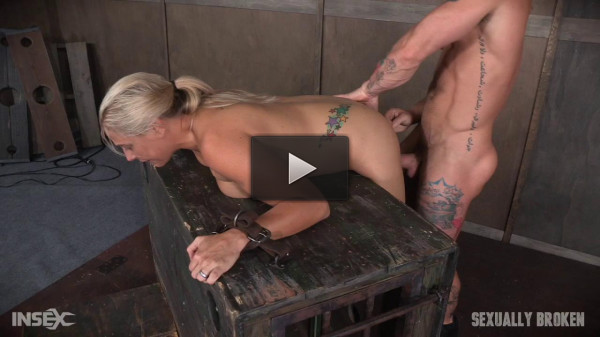 Angel Allwood Fucked From Both Ends and Made to Cum!
