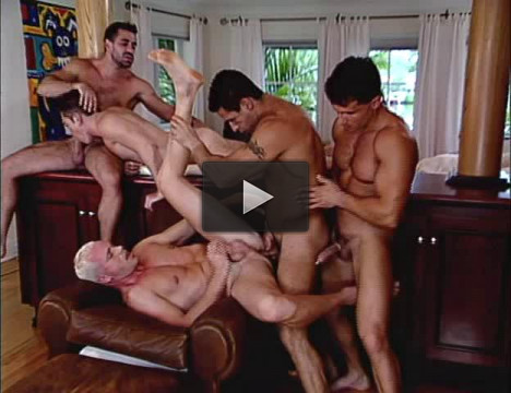Gangbang Dreams With Muscle Men