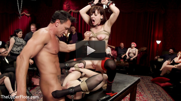 Slave Girls Debased & Anally Ravaged at Private BDSM Party