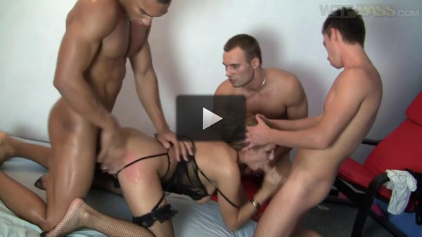 Three Guys Brutally Fuck Hot Girl Grace (720)