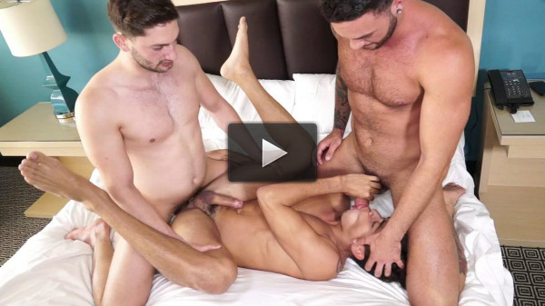 Hot Threesome Preston, Judas & Ashton (720p)