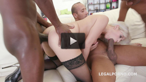 Black Busters five on one Ria Sun Dp Dap Gapes Blonde One Gets Bbc gang bang (2016)