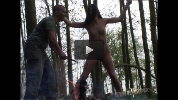 Beautiful Young Woman Kidnapped, Tortured in the Woods
