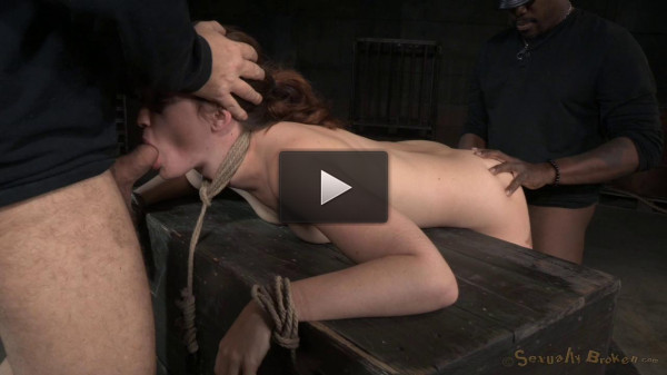 Jodi Taylor Bent Over, Bound And Used Hard With Drooling Deepthroat On Bbc!