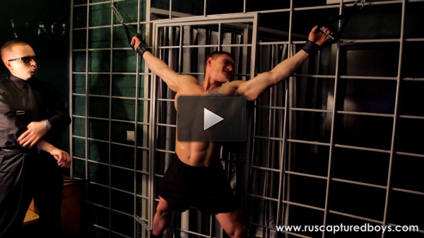 RusCapturedBoys — Bodybuilder Vasily in Jail Part II