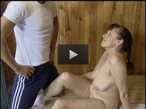 Sex In The Sauna with Mature