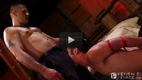 Fetish make Warehouse Kinks - Scene 3 or 5 (Tony Buff & Chase Young) - hard cock, fat cock, tight ass