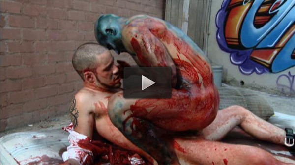 Hardcore Anal & Gangbang With Zombie