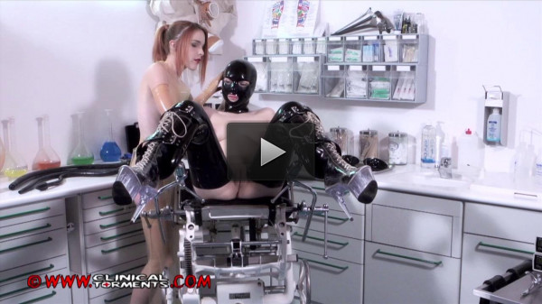 Anal Training Nurse Amarna Miller and Chiara Diletto Part Two