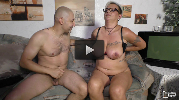 Judith — Mature blonde granny starring in German porn (2016)