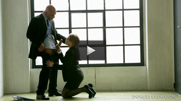 Alessandra Jane — Young Slutty Secretary With Glasses