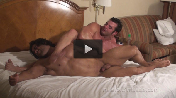 Mission4Muscle Muscle Worship Wrestling — Frank The Tank and Corleone