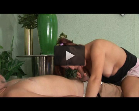 Stepfather needs massage