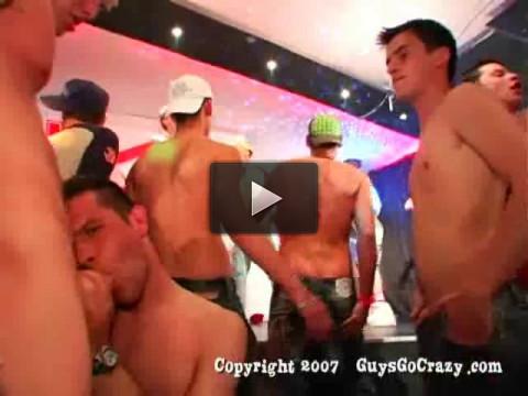 Guys Go Crazy 14 V. I. P. Party Boys.