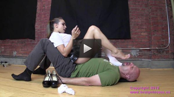 Sasha Foxxx Bratty School Girl Sits on Her Sugar Dummy (2015)