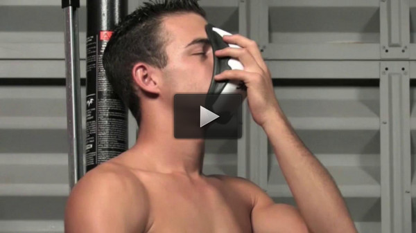 CockyBoys — Nathan Sommers Jerks Off