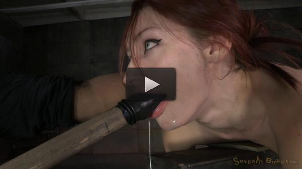 Violet Monroe Strictly Shackled And Utterly Destroyed By Hard Cock! Brutal Deepthroat!