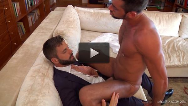 Men At Play Upgraded - Massimo Piano Fucked by Hector de Silva (1080p) (enjoying, watching, mirror, young)