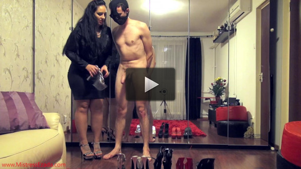 Mistress Ezada The shoe fetishist s milking (2016)