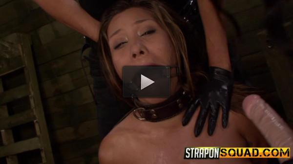 Straponsquad — Jun 10, 2016 - Brooklyn Daniels & Ava Kelly Give Smart Mouth Sex Slave Mena Li