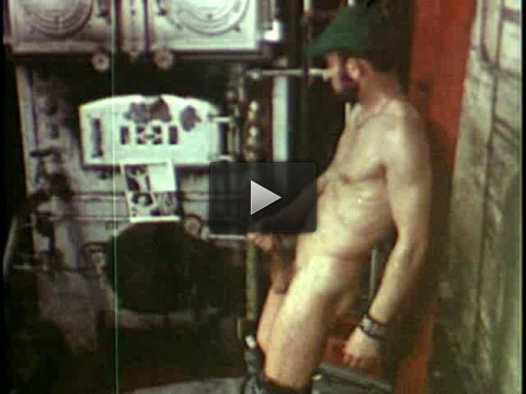 Lavender Lounge Studios — Vintage Bareback: Hairy Muscle Daddy 1