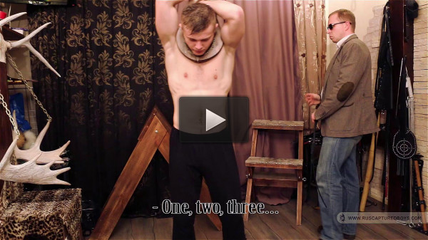 RusCapturedBoys - Domestic slave Demyan - Part I.