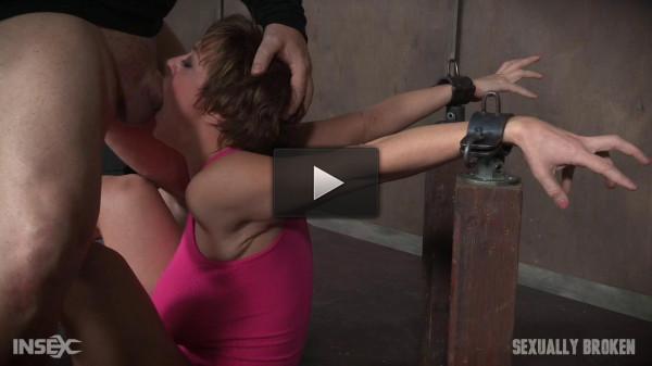 SexuallyBroken — Aug 10, 2016 - Dee Williams Shows Off Amazing Cock Sucking Skills in Bondage