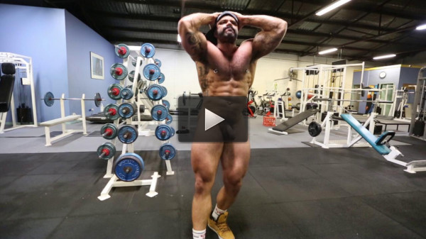 Rogan Richards - Alone In The Gym (gym, other, men, thick, muscle)