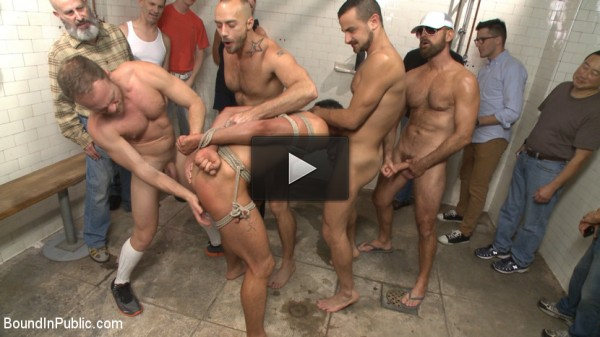 Extra Innings - Bully Team Pitcher in the Showers - gape, huge cock, vid